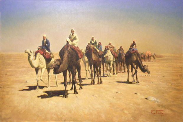 E.Cury_-_Caravana,_Deserto_da_Líbia